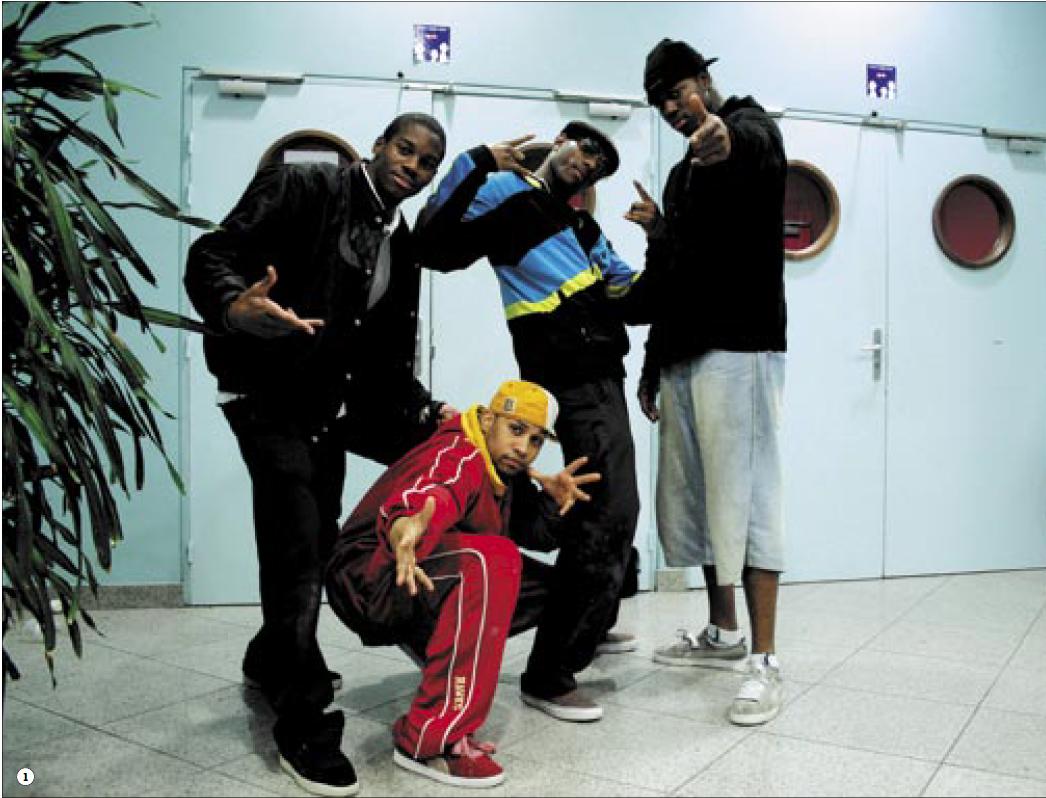 Def Dogz crew not only hip hop