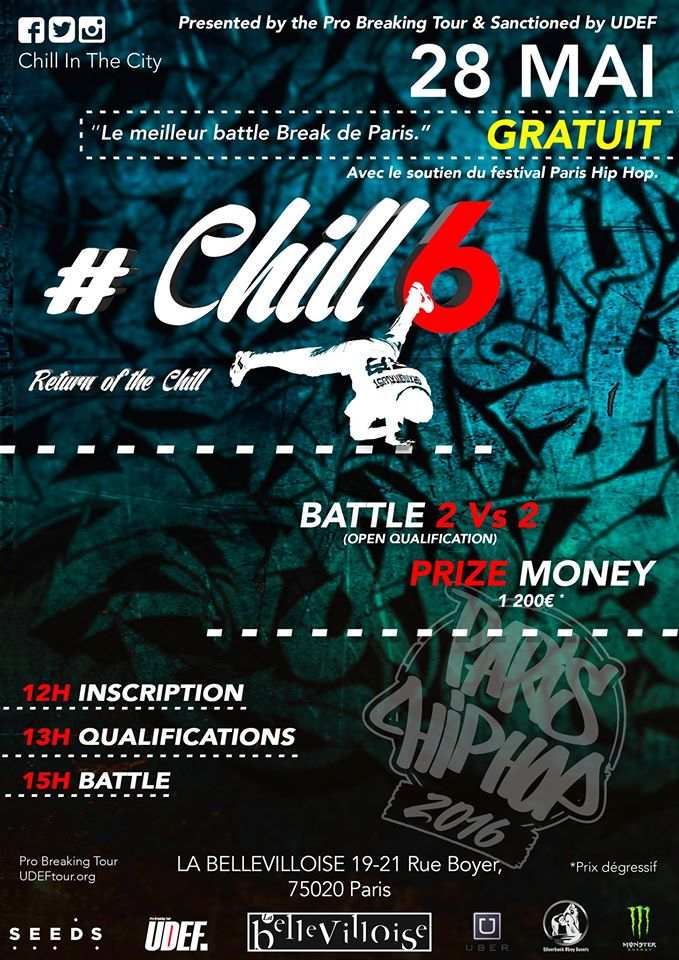 chill in the city breakleague - Not only hip hop