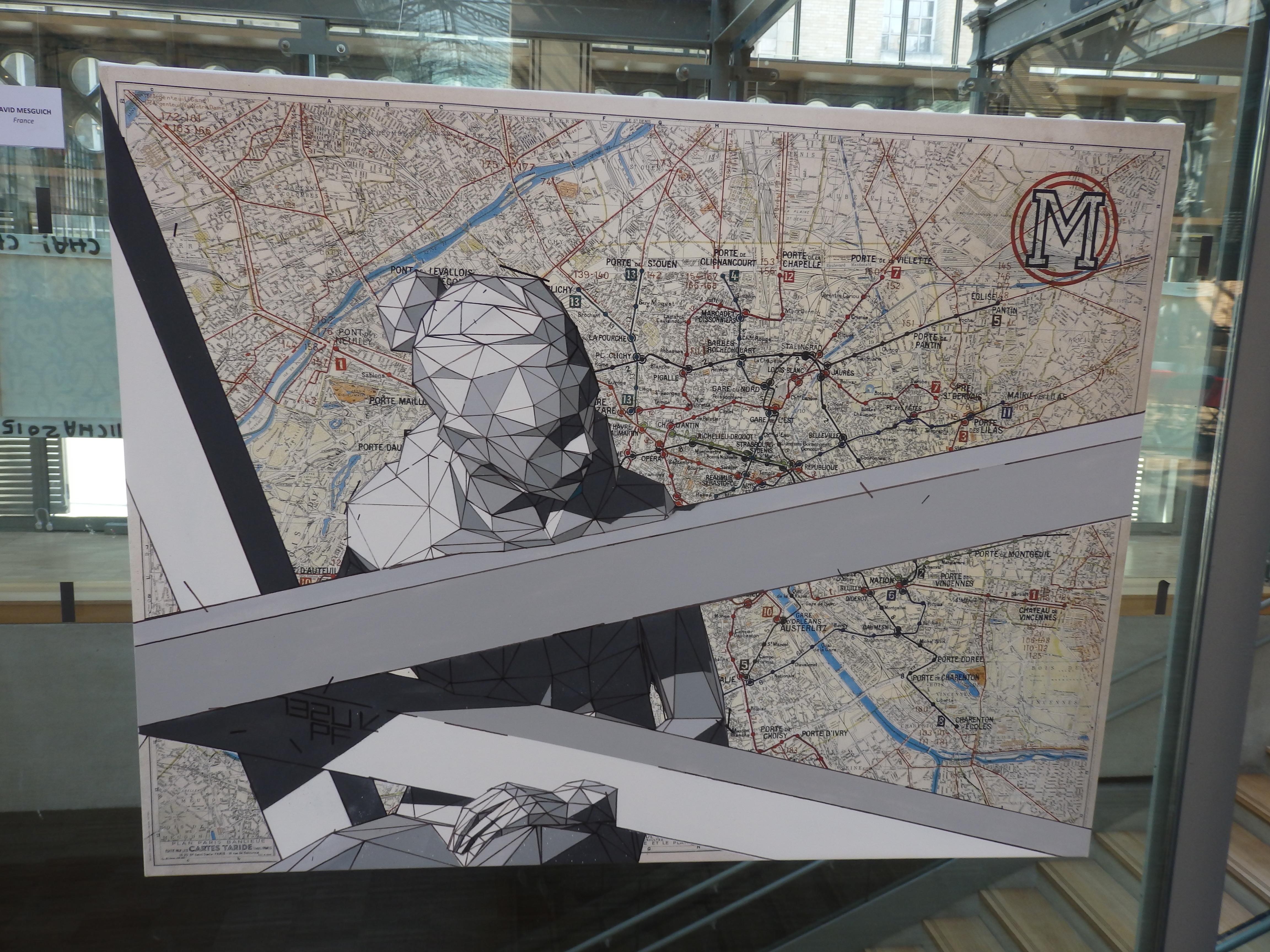 Plan de Métro- David Mesguich