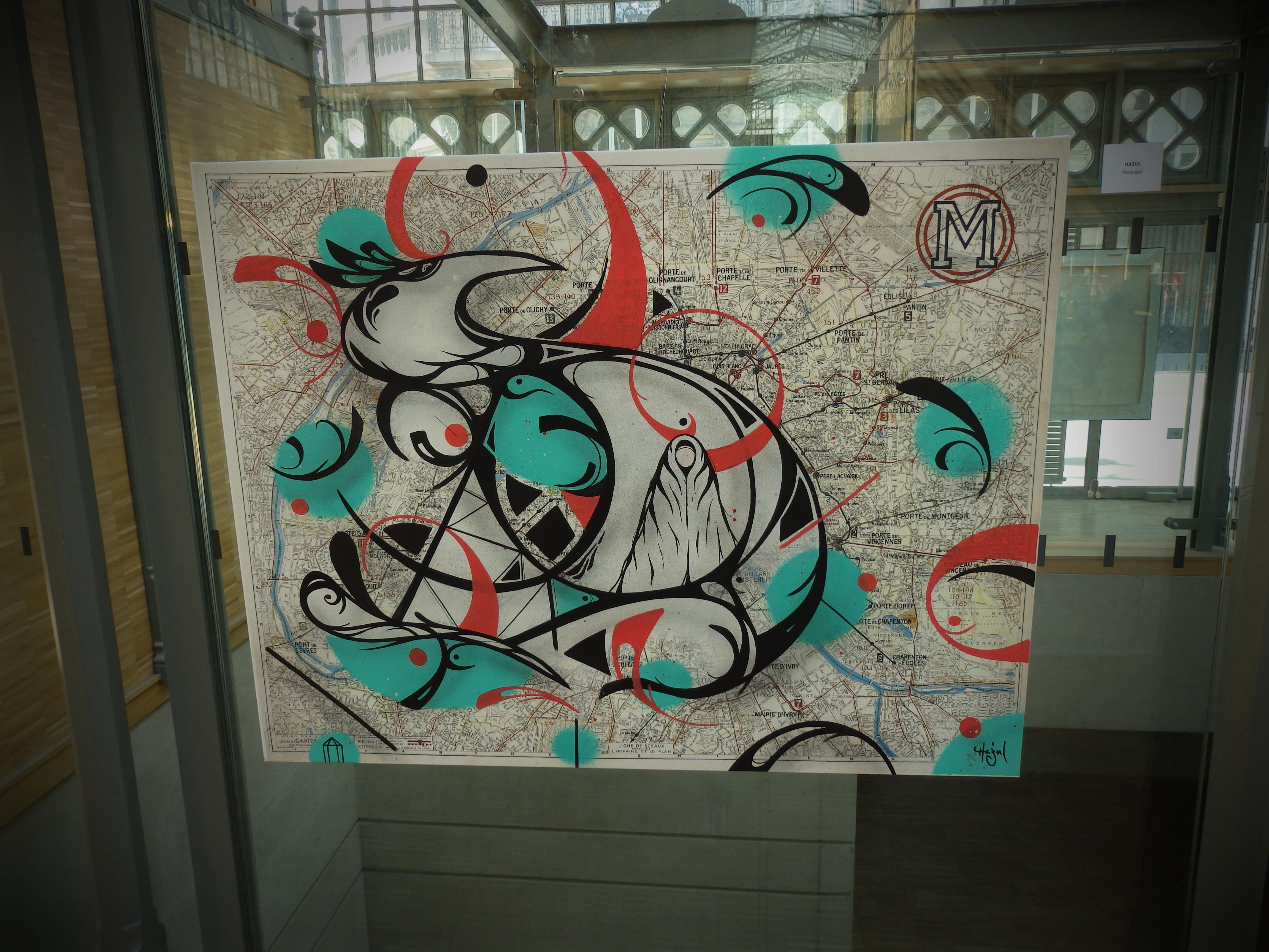 Plan de métro- JAMES REKA