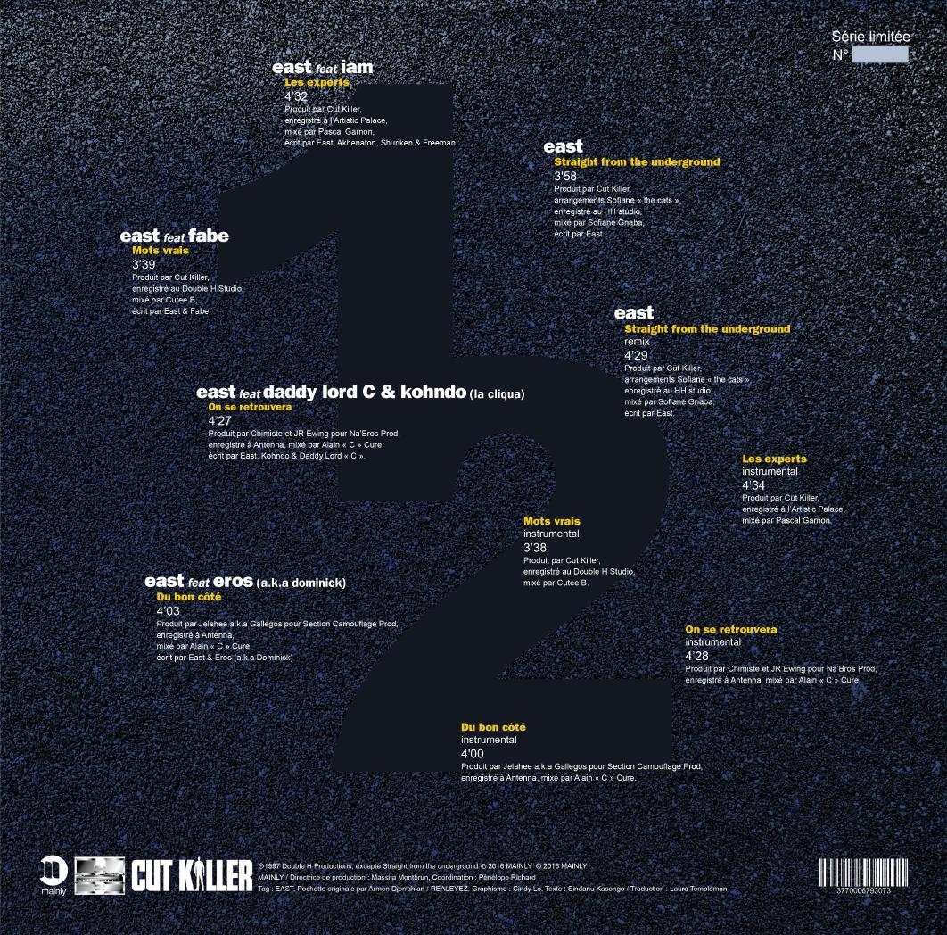 Eastwoo : La réédition de l'EP remet la lumière sur une authentique légende du Hip-Hop en France not only hip hop