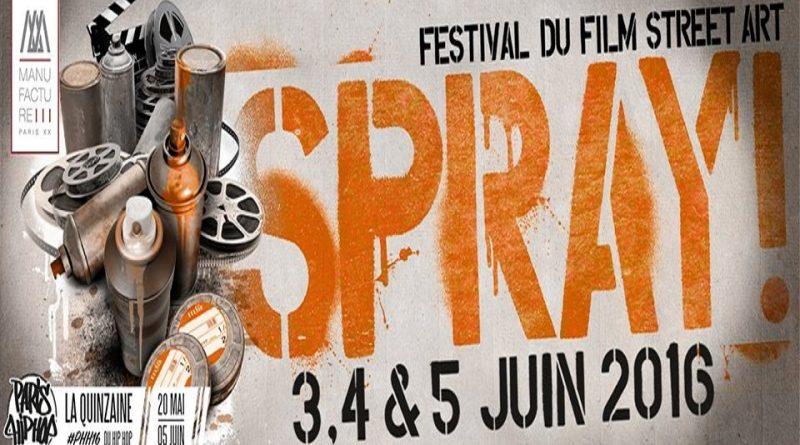 SPRAY! : Festival du film street-art de la Manufacture 111