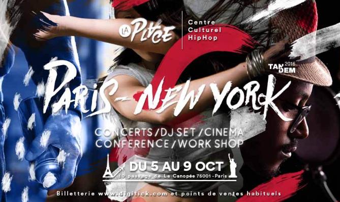 """Octobre, Novembre, Décembre 2016 : Les principaux événements Hip Hop de """"La Place"""""""