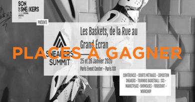 Places à gagner pour le Sneaker Summit à Paris les 25 et 26 janvier
